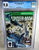 Web of Spider-Man #31 Kraven Marvel 1987 CGC 9.8 NM/MT White Pages Comic K0094