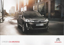 CITROEN C4 AIRCROSS - CATALOGUE GRAND FORMAT KATALOG BROCHURE - 35 PAGES - NEUF