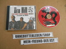 CD Hiphop Dru Hill - You Are Everything (4 Song) Promo DEF SOUL Sisqo Ja Rule