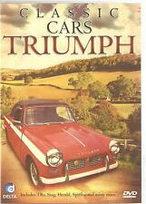 CLASSIC CARS TRIUMPH DVD INCLUDES TRs, STAG, HERALD, SPITFIRE & MANY MORE