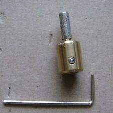 "1/4"" Stained Glass Grinder Bit Head 4 Inland Or Glastar + More Top Quality Brass"