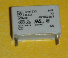 50 condensatori MKP 0, 1uF, 100nF, 300VAC, X 2, KNB1530, ISKRA le novità senza piombo!