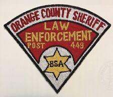 Orange County Sheriff Law Enforcement Post 449 Scout Explorer CSP