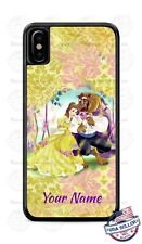 Walt Beauty and the Beast Disney Cartoon Phone Case Cover For iPhone Samsung etc