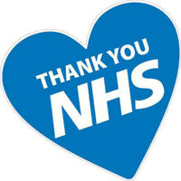 NHS Thank You Heart Enamel Pin Badge – National Health Service Front Line Heroes