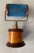 Antique Pin Cushion Folk Art Wood Roller