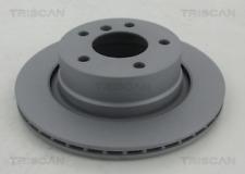 2x Bremsscheibe TRISCAN 812011179C hinten für BMW