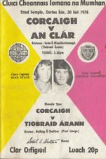 GAA 1978 Munster Hurling Final Cork Clare Tipperary !CLARE'S BIG CHANCE!