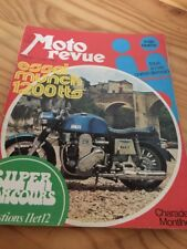 MOTO REVUE 1973 N° 2127 juin Munch 1200 TTS Charade , Eugéne Mauve Montlérhy ...