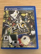 Persona 4 Golden (Sony PlayStation Vita, 2012)