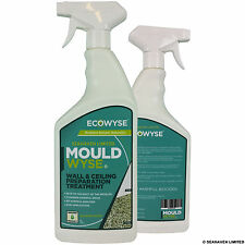 ECOWYSE MOULDWYSE 1 LITRE SPRAY- WALL & CEILING PREPARATION TREATMENT FOR MOULD