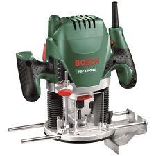 "Bosch POF1200AE 1/4"" & 8mm Plunge Router 1200w"