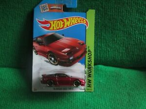 HOT WHEELS 96 NISSAN 180SX TYPE X (LOT G20) CAR MINT CARD OPENED