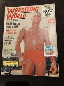 Wrestling World Magazine December 1963 Buddy Rogers Midget Wrestling