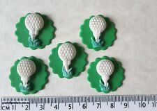 24 x cupcake cake toppers birthday dad party golf balls decorations