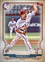2020 Topps Gypsy Queen BROCK BURKE GQ Logo Swap Parallel Rangers RC #28