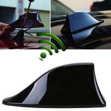 Black Universal Car Roof Radio AM/FM Signal Shark Fin Aerial Antenna Cover USPS