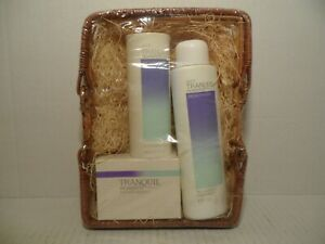 VTG Avon Tranquil Moments Set Aromatherapy Relaxing Foam Bath Soap Soothing Talc