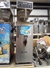 Bunn TU30 3 Gallon Ice Tea Maker Machine Brewer TD4T 4 Gallon Dispenser Urn
