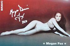 MEGAN FOX - Autogrammkarte - Signed Autograph Autogramm Clippings Fan Sammlung
