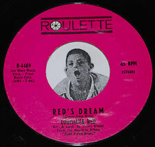 Mod Blues Soul 45~LOUISIANA RED~Red's Dream/ Ride On Red~Roulette 4469