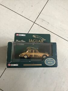 corgi limited edition Gold Plated 1:43 Scale Model For The Adult Collection