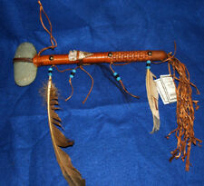 "Native American made Stone War Club 14"" L  Navajo NEW 03"