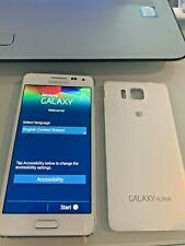Samsung Galaxy Alpha SM-G850M 32GB Dazzling White SMARTPHONE CLEAN IMEI Intern
