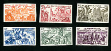 French Equatorial Africa Stamps # C25-30 XF OG NH Imperforate Set