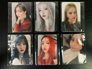 [Brand New & Sealed] GFRIEND 回: Song of the Siren Pre-Order Photocard 2 Set