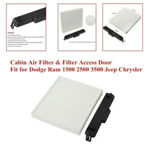 Cleaning Cabin Air Filter & Core Cover Protective Replacement High Quality