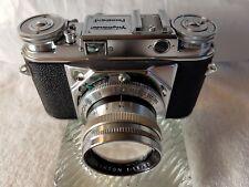 Voigtlander Prominent with Nokton 50mm f1.5 Lens.