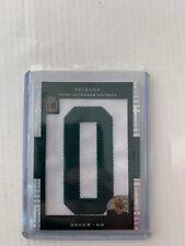 Brian Brohm 2008 Letterman Patch Card #LP-BB Serial #2/3