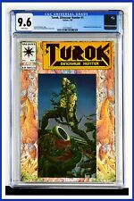 Turok Dinosaur Hunter #1 CGC Graded 9.6 Valiant July 1993 Foil Cover Comic Book