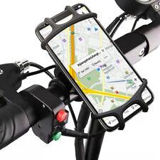 Motorcycle Phone Holder Bike Bicycle Handlebar Mount Cradle For iPhone Samsung