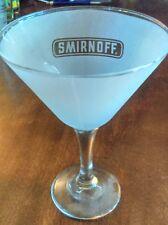Smirnoff Martini glass