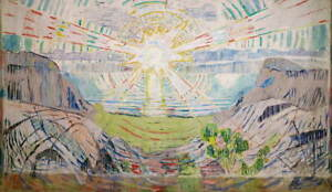 Edvard Munch The Sun Giclee Canvas Print Painting Poster Reproduction LARGE SIZE