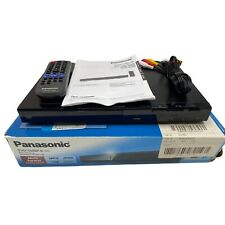 (USED) Panasonic Progressive Scan DVD Player DVD-S500 Formats Free Shipping