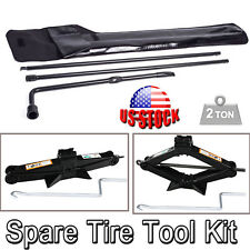 For (2003-07) Ford F450 Portable Tools Kit Scissor Jack & Spare Tire Lug Wrench
