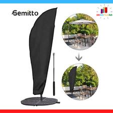 Housse Protection Parasol Déporté Inclinable Imperméable 2/4m Contre Intempérie