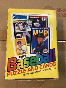 1989 donruss wax box