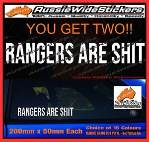 For Toyota HILUX stickers accessories Ute 4x4 MX Funny decal ARE SH*T 200mm