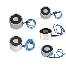 12V DC Sucked Type Electric Lifting Magnet Electromagnet Solenoid 5 Styles E0Xc