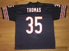 Vintage Chicago Bears Adidas Anthony Thomas NFL Jersey Mens XL Blue Orange