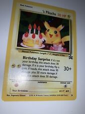 Pokemon BIRTHDAY PIKACHU #24 - HOLO BLACK STAR PROMO - (NM)