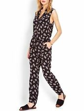 Rayon V Neck Sleeveless Jumpsuits & Playsuits for Women