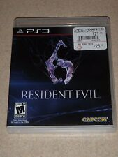 Playstation 3 RESIDENT EVIL Video Game