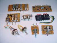 Pioneer SA-8100 amplifier MISC HARDWARE SPARE LOT &pdf-schematic-manual