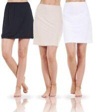 Ladies Lace Cooling Cling Resistant Underskirt Petticoat Waist Slip