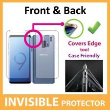 Samsung Galaxy S9 Screen Protector Invisible FRONT and BACK Shield